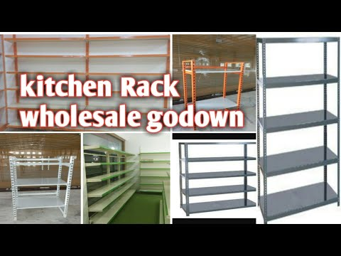 Kitchen rack shop rack wholesale godown
