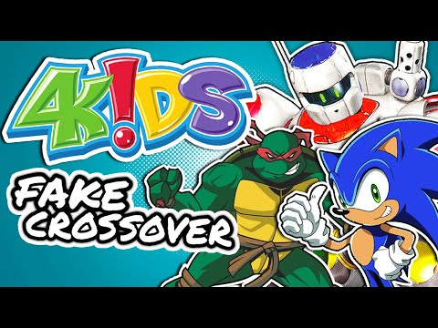 4KIDS Made an Unofficial Crossover: The Fight For The FOX BOX | Billiam