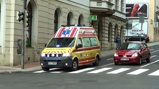 Liberec Czech Republic  city photos : Liberec ZZS Libereckého kraje RZP 56 | Liberec Region EMS ambulance 56 responding [CZ | 4.5.2015]