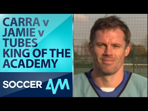soccer am football - Soccer AM's Tubes takes on former Liverpool stars Jamie Carragher and Jamie Redknapp in a Christmas Special King of the Academy! Watch Soccer AM every Saturd...