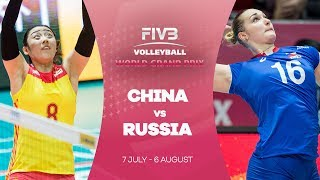 Reigning European champions Russia took on Olympic champions China in Hong Kong with Russia prevailing 3-1, delaying...