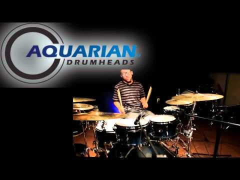 Aquarian - Aquarian Drumheads Hi-Impact, Force Ten & Super Kick 10 www.aquariandrumheads.com www.ddrummerent.com Drums: Brandon Harris Audio & Video Mixed: DDrummerEnt.