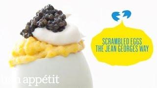 Scrambling Eggs with Jean-Georges Vongerichten