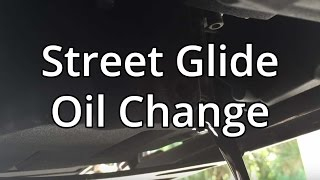 9. How To Change Harley Davidson Oil And Filter On Street Glide.