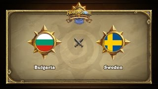 SWE vs BGR, game 1
