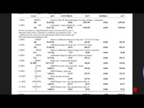 What's Wrong With This Insurance Estimate? | 02