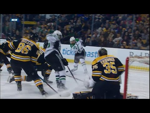 Video: Stars' Johns snipes on Bruins with lethal wrist shot