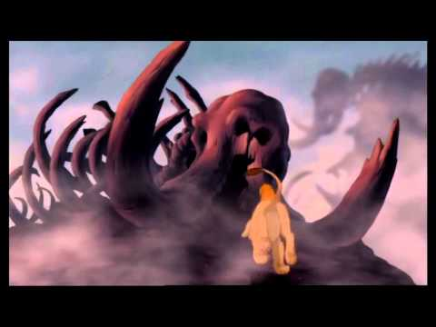 The Lion King (Lví král) - Elephant Graveyard (Sloní hřbitov) (Czech) HD