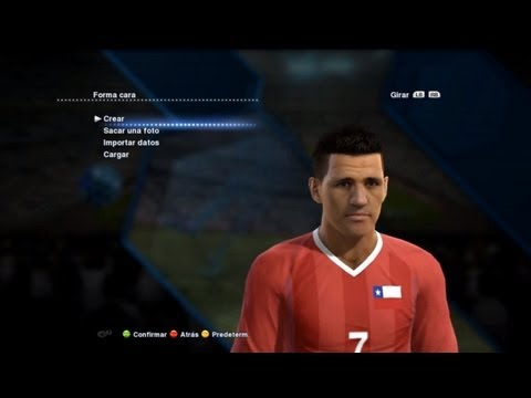Pes 2013 Chile Faces | Selección Chilena Caras | HD