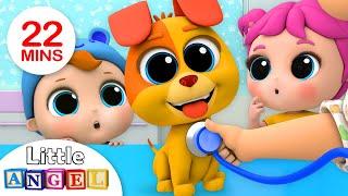 Video Bingo's First Bath | +More Nursery Rhymes by Little Angel MP3, 3GP, MP4, WEBM, AVI, FLV Januari 2019