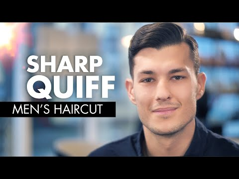 Mens hairstyles - Classic Quiff  Men Haircut Tutorial  Slikhaar TV