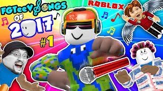 ROBLOX SONGS of 2017! Grandma Get Away! (FGTEEV Music Video Gameplay Compilation)