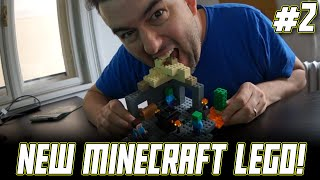 LEGO Minecraft DUNGEON 21119 Time Lapse Build and Q&A!!!