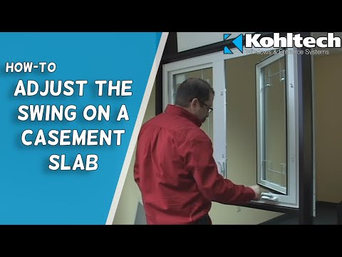 Casement Sash Adjustment