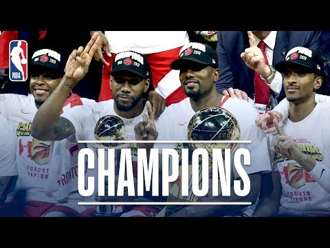 FULL 2019 NBA Championship Celebration From The Toronto Raptors