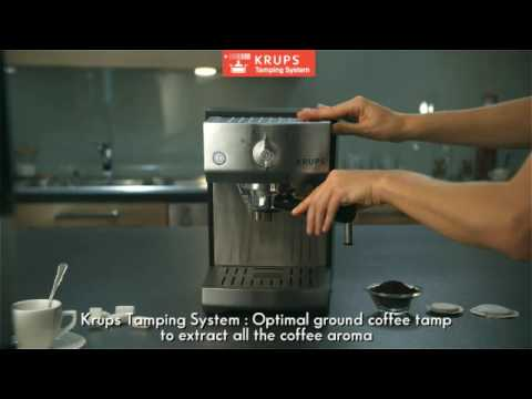 Krups Pump Espresso Machine with Precise Tamp System
