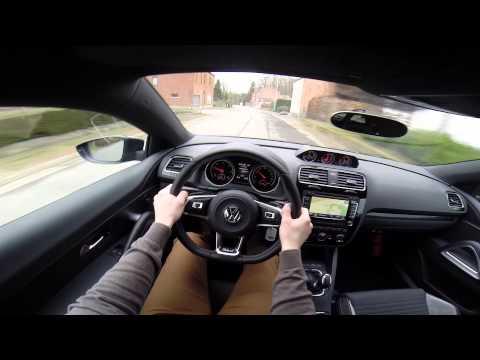 VW Scirocco R-Line 2.0 Tdi 184BHP POV test drive GoPro