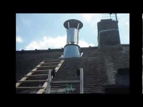 comment poser une sortie de toit vmc