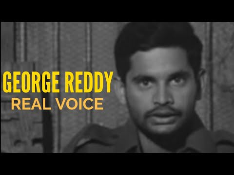 George Reddy Real Voice | With Subtitles | Founder of PDSU | Osmania University Hyderabad