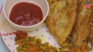 How To Make Masala French Toast   Egg Recipes - POPxo Food