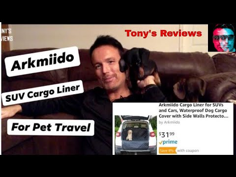 Cargo Liner for Pets by Arkmiido