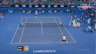 Tennis Highlights, Video - Djokovic vs. Berdych - Australian open 2013 QF Highlights