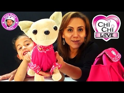 Chi Chi Love Showstar - der kleine süße interaktive Plüsch Hund - Kanal für Kinder