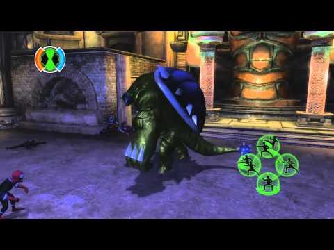 ben 10 ultimate alien cosmic destruction xbox 360 gameplay