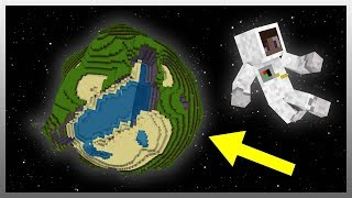 "•️ What if ""Minecraft"" was a REAL Planet?"