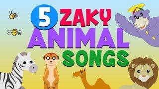 Video 5 Zaky Animal Songs For Kids - Muslim Cartoons MP3, 3GP, MP4, WEBM, AVI, FLV Juni 2019