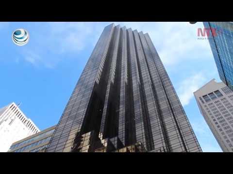 Edificios Trump en Nueva York revelan ambición y contradicciones del magnate (видео)