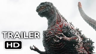 Nonton Godzilla Resurgence Official Us Trailer  1  2016  Shin Godzilla Movie Hd Film Subtitle Indonesia Streaming Movie Download