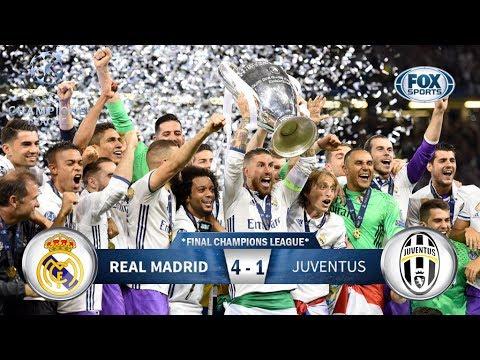 Juventus 1-4 Real Madrid / Champions League 2017 *FINAL* #MadridCampeón / Relato Mariano Closs