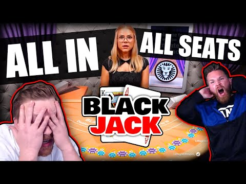 High Stakes Blackjack on Private Table!