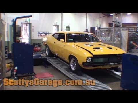 Twin Turbo Chrysler-Powered Ford Falcon Coupe
