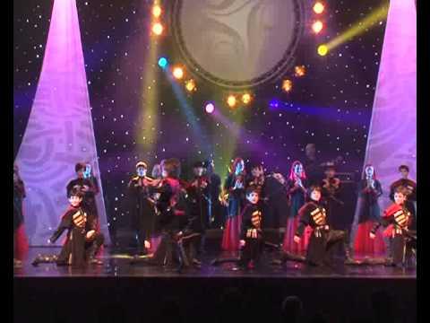 Little Virtuosos of Georgia Traditional Georgian Dance -- Final (los Ninos Virtuosos del Caucaso-Georgia)