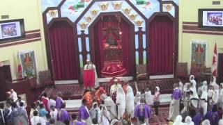 Hosanna Palm Sunday Sermon By Qesis Dr. Mebratu Kiros @ Toronto St. Mary EOTC  (April 28, 2013)