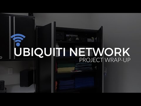 Walkthrough of My Completed Ubiquiti Network