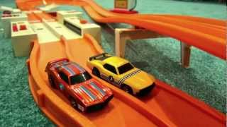 1970 Hot Wheels Sizzlers California/8 Race Set