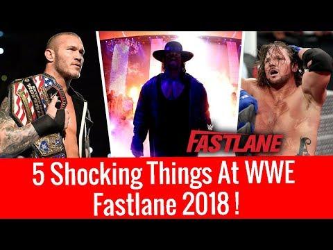 5 Shocking Things At Fastlane 2018 ! WWE Fastlane 2018