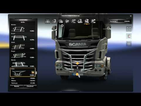 ETS2 Truck Customization - Scania R series