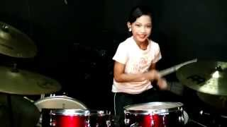 Wali - Ada Gajah Dibalik Batu - Drum Cover by Nur Amira Syahira Video