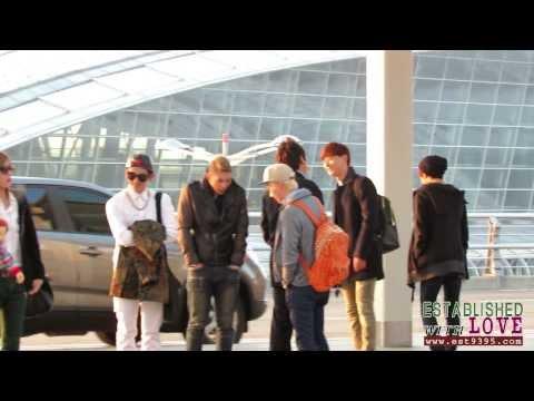 [FANCAM]131201 인천공항출국 ☆NU'EST M☆ Part 1 (видео)