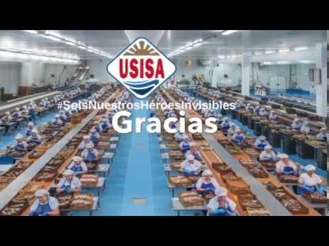 Los/as trabajadores/as de USISA juntos y unidos contra el coronavirus.