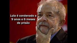 O juiz federal Sergio Moro, responsável pela Operação Lava Jato na primeira instância, condenou nesta quarta-feira (12) o ex-presidente Luiz Inácio Lula da Silva a nove anos e seis meses de prisão.