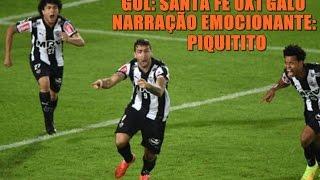 GALO 1 x 0 Santa Fé - Copa Libertadores 2015 - Narração: Rádio Globo-MG Curtam nossa página no Facebook: https://www.facebook.com/CAM1908 Curtam ...