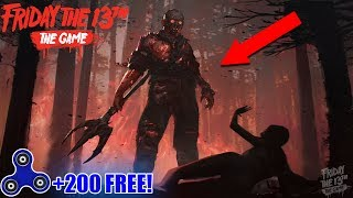RAREST JASON SKIN! & Fidget Spinner Give Away Every 10 Minutes (Friday the 13th Game)
