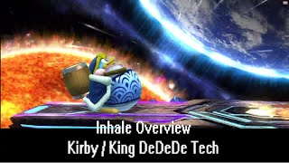 Sm4sh Tech – Inhale Overview (Kirby/DDD)