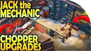 JACK The MECHANIC at GAS STATION + CHOPPER UPGRADES - Last Day on Earth Survival Update 1.9.8