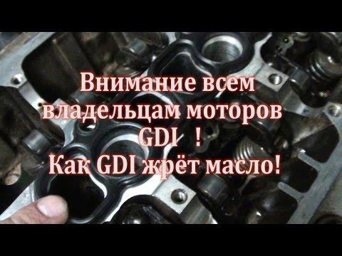 Жрет масло паджеро 4